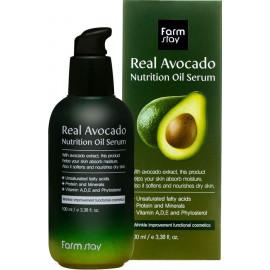 Питательная сыворотка Farm Stay с маслом авокадо 100мл