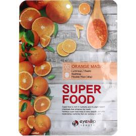 Маска для лица тканевая EYENLIP SUPER FOOD ORANGE MASK 23мл