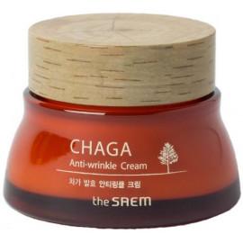 Крем для лица The SAEM антивозрастной с экстрактом чаги CHAGA Anti-wrinkle Cream 60мл