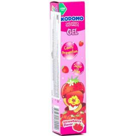 Детская зубная паста KODOMO со вкусом клубники 40 гр