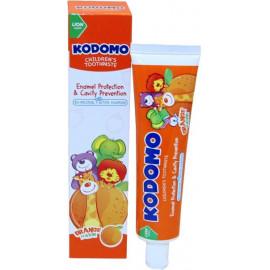 Детская зубная паста KODOMO со вкусом апельсина 40 гр