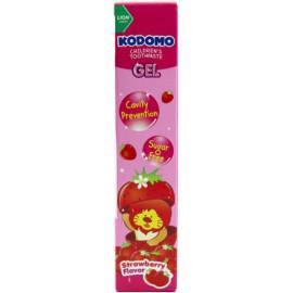 Детская гелевая зубная паста KODOMO со вкусом клубники 40 гр