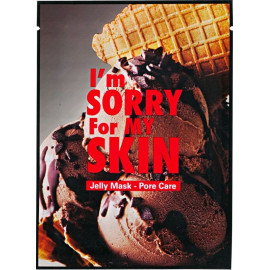 Гелевая маска для ухода за порами I'm Sorry for My Skin Pore Care Jelly Mask Ice Cream 33 мл