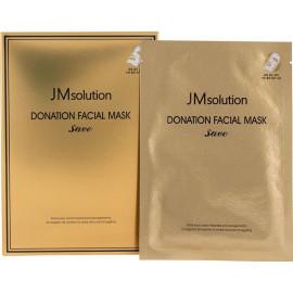 Маска JMsolution с золотом, гиалуроном и пептидами Donation Mask Save 37 мл