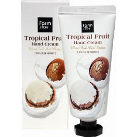 Суперпитательный крем для рук Farm Stay Тропические фрукты с маслом ши 50мл