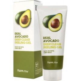 Отшелушивающий гель Farm Stay с экстрактом авокадо 100мл