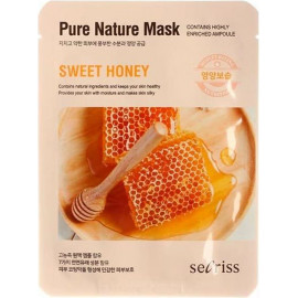 Маска для лица Anskin тканевая Secriss Pure Nature Mask Pack-Sweet honey 25мл