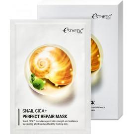 Тканевая маска для лица Esthetic House МУЦИН УЛИТКИ SNAIL CICA+ PERFECT REPAIR MASK
