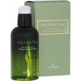 Успокаивающий тонер The Skin House с экстрактом алое Aloe Fresh 130мл