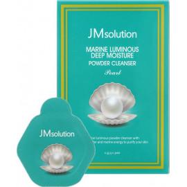 Энзимная пудра JMSolution с жемчугом Marine Luminous Pearl Deep Moisture Powder Cleanser Pearl 1,16 гр