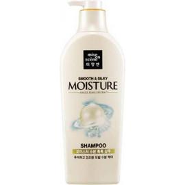 Увлажняющий шампунь MISE EN SCENE для блеска волос Pearl Smooth & Silky Moisture Shampoo 780 мл