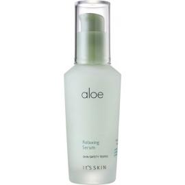 СРОК ГОДНОСТИ 2021.06.27 Успокаивающая сыворотка It's Skin с алоэ вера Aloe Relaxing Serum 40 мл