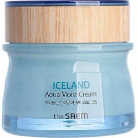 Крем для лица The SAEM увлажняющий Iceland Aqua Moist Cream 60 мл