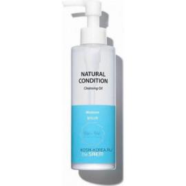 Масло для лица The SAEM гидрофильное Natural Condition Cleansing Oil Moisture 180 мл c бесплатной доставкой