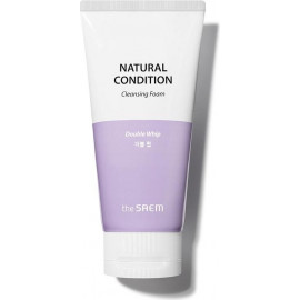 Пенка для умывания The SAEM очищающая NATURAL CONDITION Cleansing Foam Double Whip 150 мл
