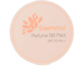 Пудра The SAEM ароматизированная 23 тон Sammul Perfume BB Pact SPF25 PA++ Pink Beige 20 гр