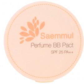 Пудра The SAEM ароматизированная 21 тон Sammul Perfume BB Pact SPF25 PA++ Cover Beige 20 гр
