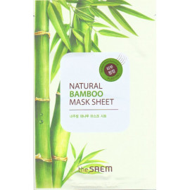 Тканевая маска The SAEM с экстрактом бамбука Natural Bamboo Mask Sheet 21 мл в Минске