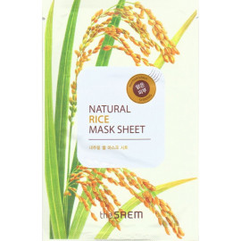 Тканевая маска The SAEM с экстрактом риса Natural Rice Mask Sheet 21 мл