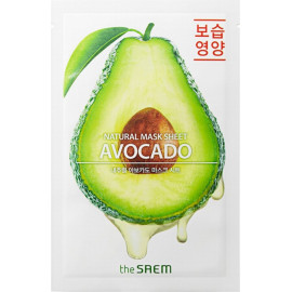 Тканевая маска The SAEM с экстрактом авокадо Natural Avocado Mask Sheet 21 мл