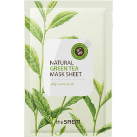 Тканевая маска The SAEM с экстрактом зеленого чая Natural Green Tea Mask Sheet 21 мл