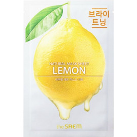 Тканевая маска The SAEM с экстрактом лимона Natural Lemon Mask Sheet 21 мл