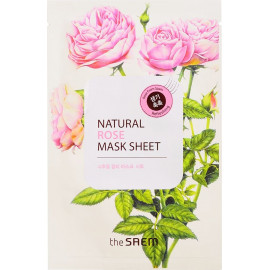 Тканевая маска The SAEM с экстрактом розы Natural Rose Mask Sheet 21 мл