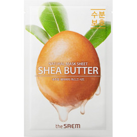 Тканевая маска The SAEM с экстрактом масла ши Natural Shea Butter Mask Sheet 21 мл купить