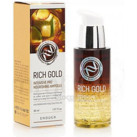 Cыворотка Enough Rich Gold Intensive Pro Nourishing Ampoule 30 мл
