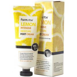 Крем для ног FarmStay увлажняющий с экстрактом лимона 100мл