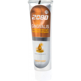 Зубная паста Aekyung 2080 с Гинкго билобо и имбирем K Gingivalis Ginger Oil 120 гр