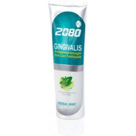Зубная паста Aekyung 2080 ГОЛУБАЯ Гинкго билоба K Gingivalis Herbal Mint 120 гр