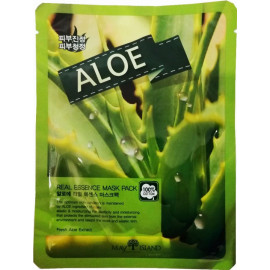 Маска для лица тканевая MAYISLAND Real Essence Aloe Mask Pack