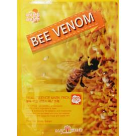 Маска для лица тканевая MAYISLAND Real Essence Bee Venom Mask Pack 25 мл