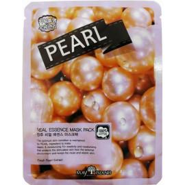 Маска для лица тканевая MAYISLAND Real Essence Pearl Mask Pack 25 мл