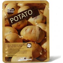 Маска для лица тканевая MAYISLAND Real Essence Potato Mask Pack 25 мл