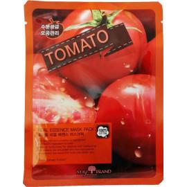 Маска для лица тканевая MAYISLAND Real Essence Tomato Mask Pack 25 мл