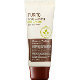 ББ крем Purito Snail Clearing BB cream #21 Light Beige 30 мл