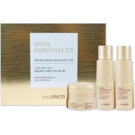 Набор The SAEM уходовый антивозрастной Snail Essential EX Wrinkle Solution
