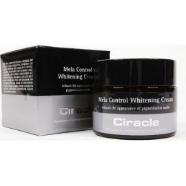 Крем для лица Ciracle осветляющий Mela Control Whitening Cream 50 мл
