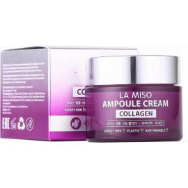 Антивозрастной ампульный крем La Miso с коллагеном Ampoule Cream Collagen 50 мл