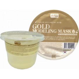 Альгинатная маска La Miso с частицами золота Modeling Mask Gold 28 гр