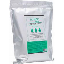 Альгинатная маска La Miso с зеленым чаем для чувствительной и проблемной кожи Modeling Mask Tea Tree 1 кг