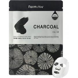Тканевая маска для лица FarmStay с углем