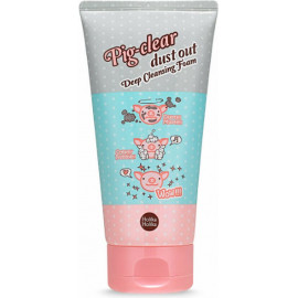 Пенка Holika Holika с коллагеном Pig-clear dust out Deep Cleansing Foam 150 мл