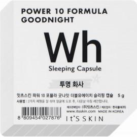 Ночная маска-капсула It's Skin Power 10 Formula Goodnight Wh выравнивающая тон 5 гр