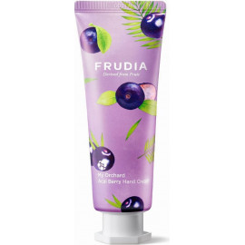 Крем для рук Frudia c ягодами асаи Squeeze Therapy Acai Berry Hand Cream 80 гр