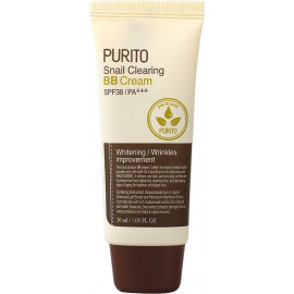 ББ крем Purito Snail Clearing BB cream #23 Light Beige 30 мл