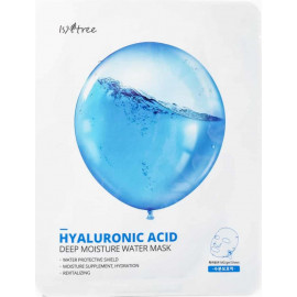 Тканевая маска IsNtree с гиалуроновой кислотой HYALURONIC ACID DEEP MOISTURE WATER MASK