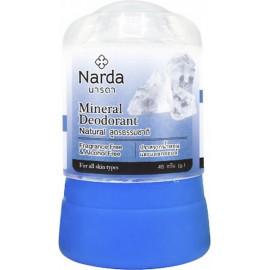 Кристаллический дезодорант Narda Натуральный Mineral deodorant natural 80 гр